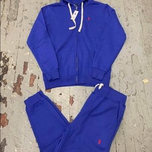 Blue Polo Sweatsuit (New in Package)